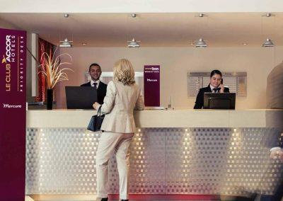 Mercure Hotel Duisburg City Reception